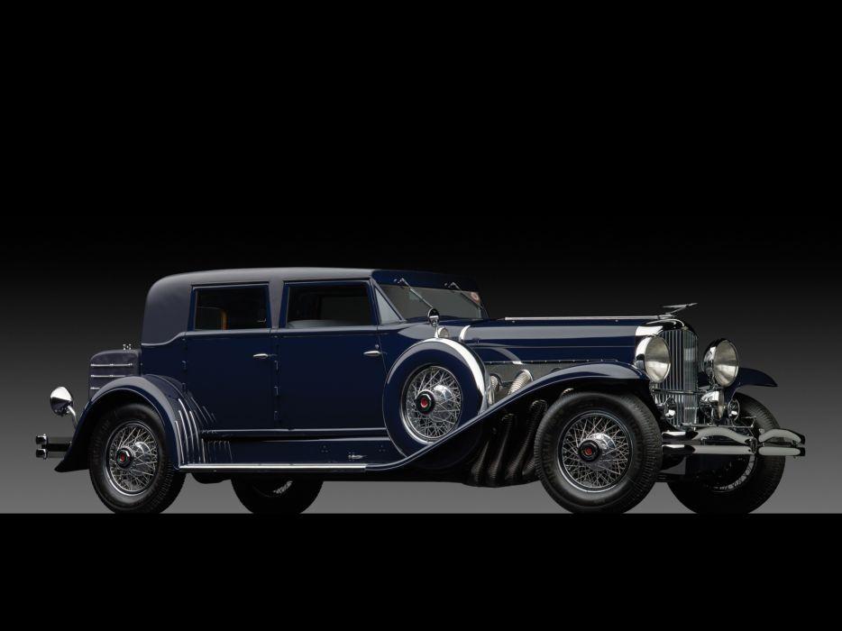 1933 Duesenberg Model-SJ 512-2538 Beverly Berline LWB by Murphy luxury retro   f wallpaper