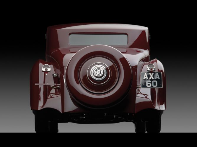 1933 Rolls Royce Phantom II Continental Coupe by Freestone & Webb luxury retro fh wallpaper