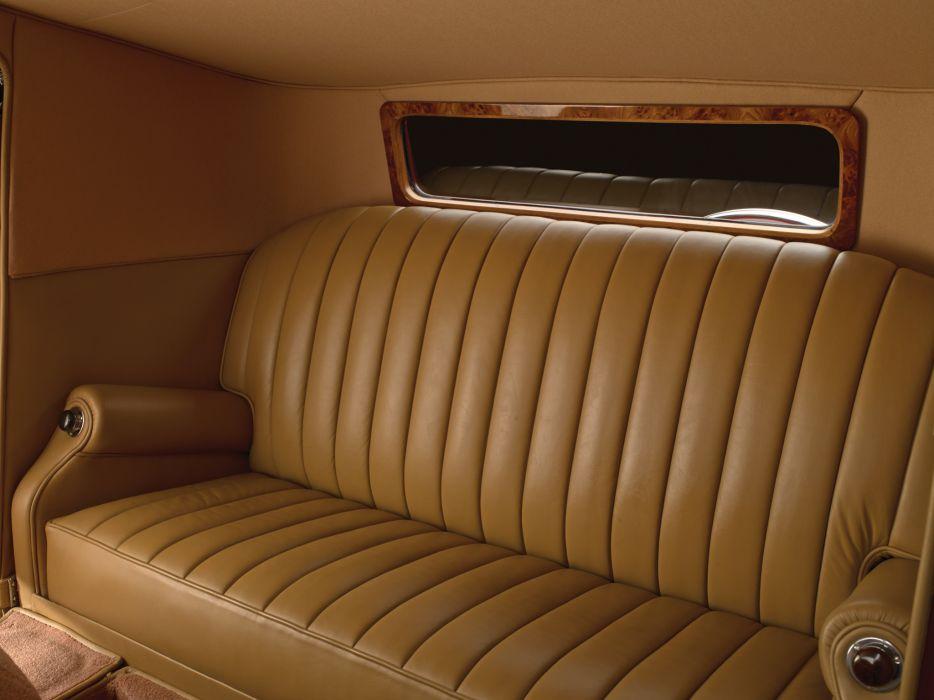 1933 Rolls Royce Phantom II Continental Coupe by Freestone & Webb luxury retro interior   d wallpaper