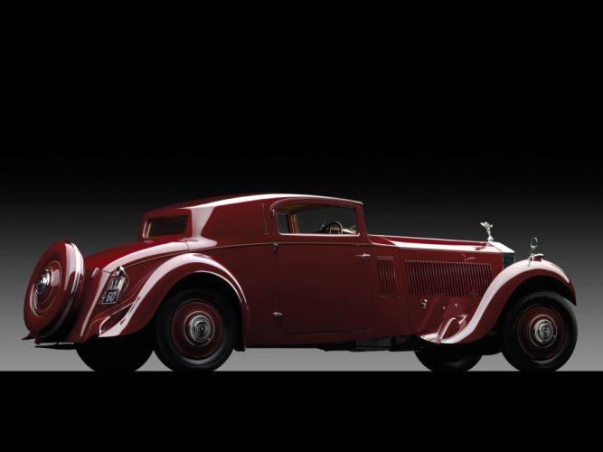 1933 Rolls Royce Phantom II Continental Coupe by Freestone & Webb luxury retro g wallpaper