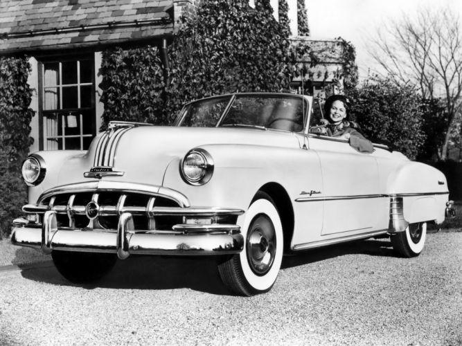 1950 Pontiac Chieftain DeLuxe Eight Convertible (2567DTX) retro wallpaper