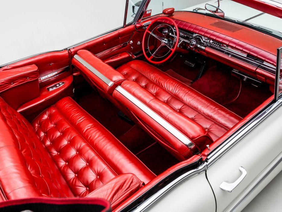 1958 Buick Limited Convertible (756-4867X) luxury retro interior g wallpaper