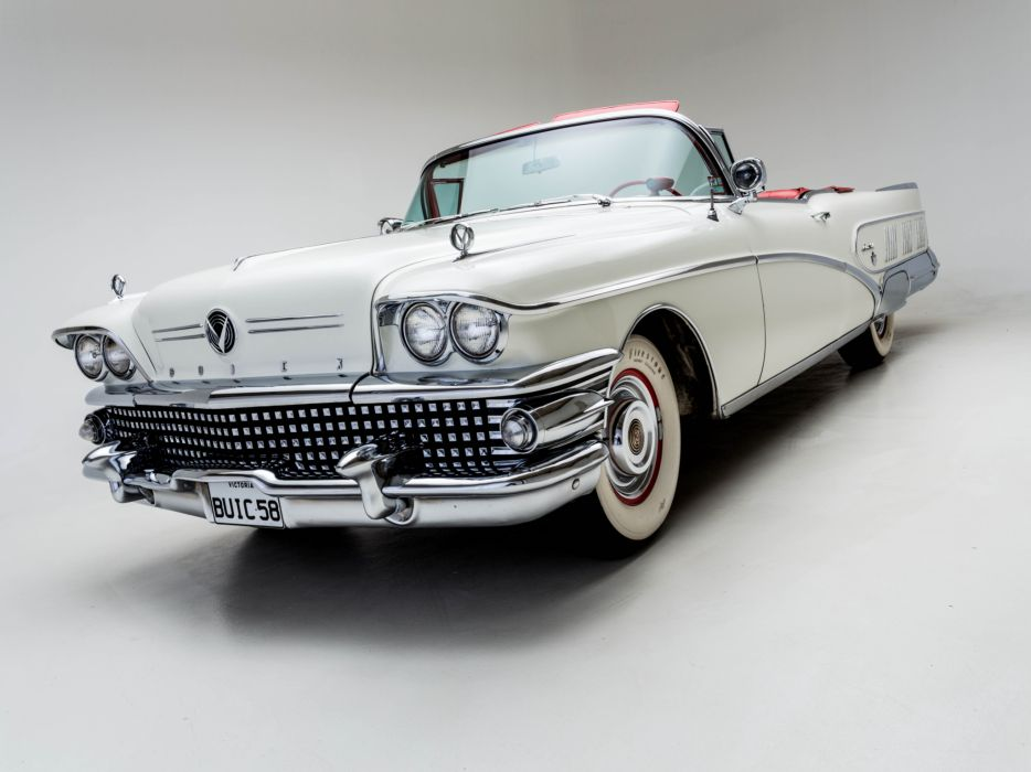 1958 Buick Limited Convertible (756-4867X) luxury retro    g wallpaper