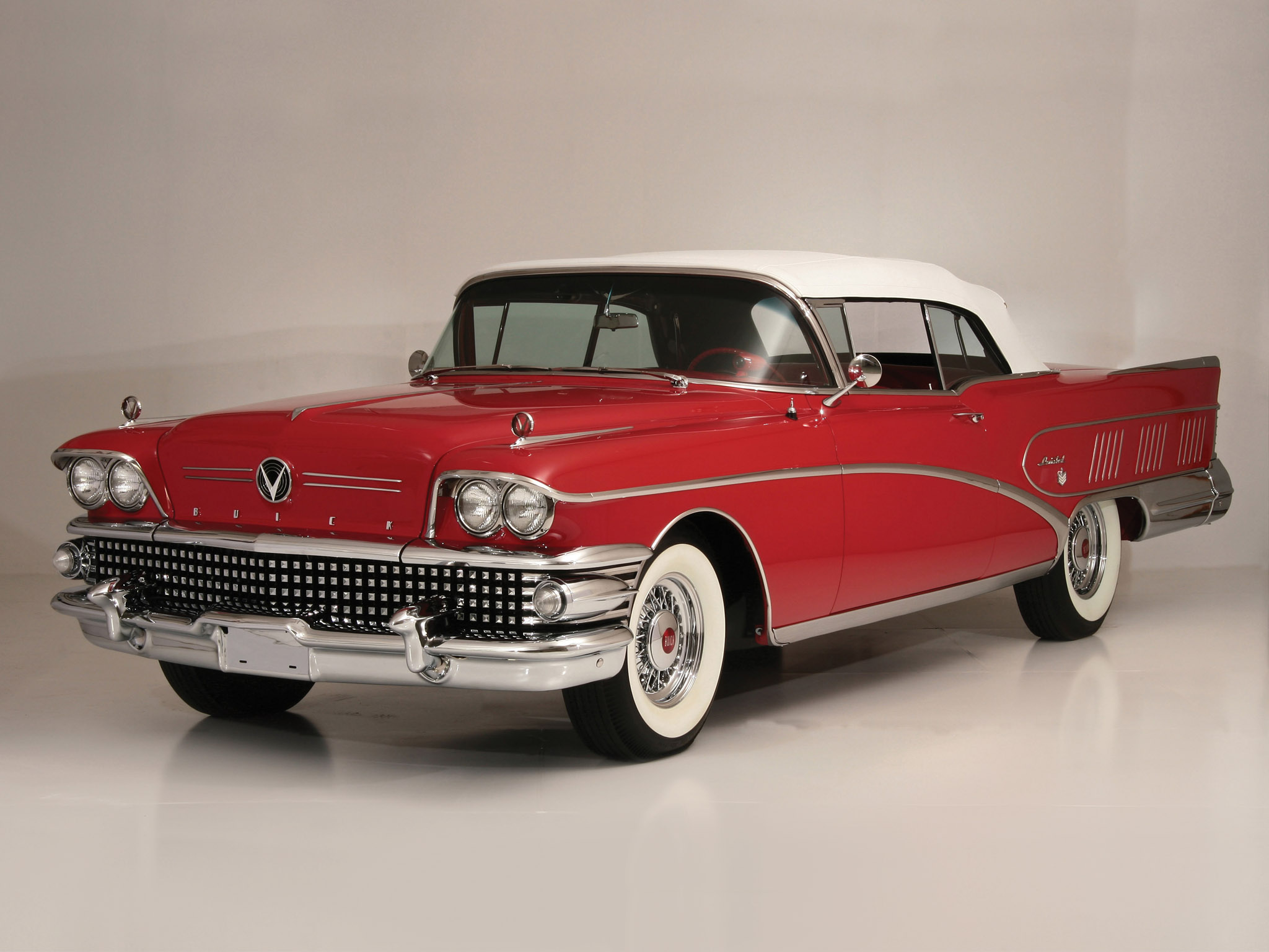 1958 Buick Limited Convertible (756-4867X) luxury retro d wallpaper |  2048x1536 | 158874 | WallpaperUP