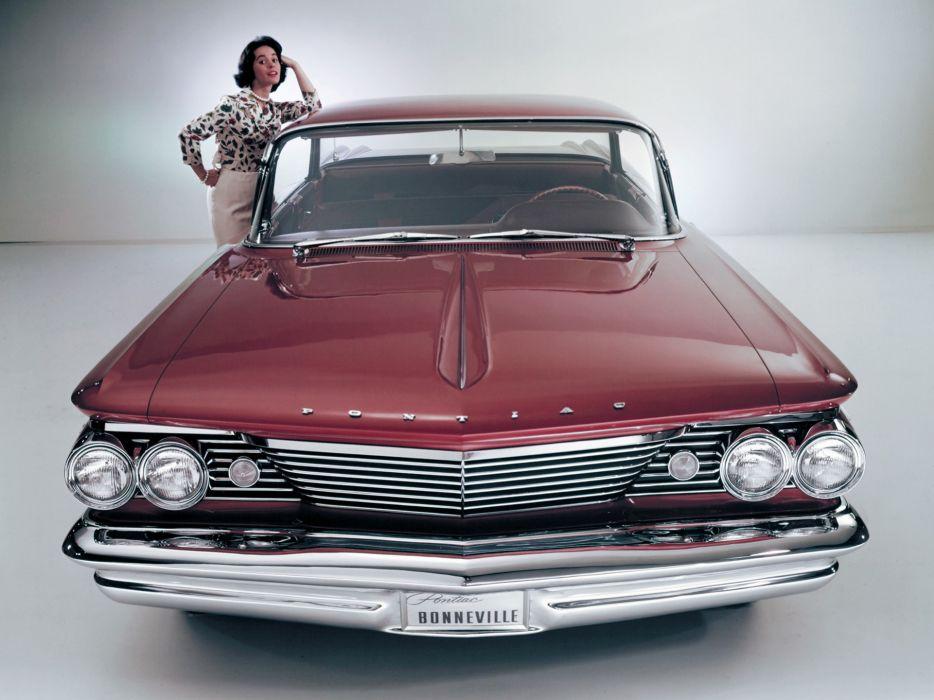 1960 Pontiac Bonneville Vista Hardtop Sedan (2839) classic wallpaper
