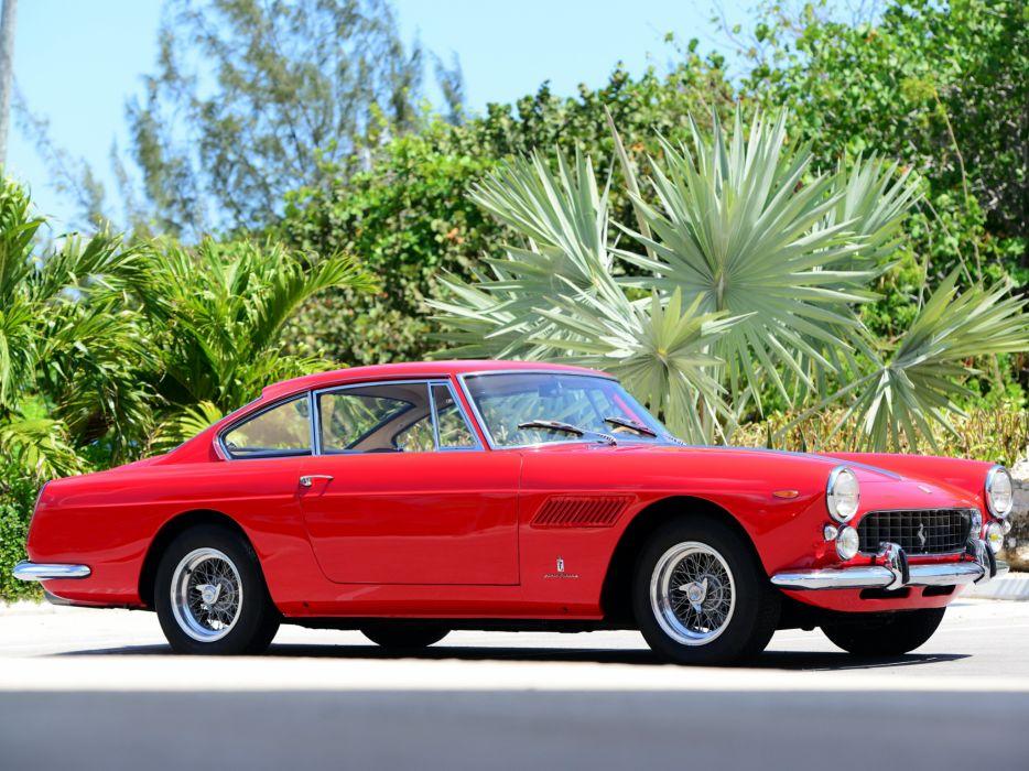 1963 Ferrari 250 GT-E 2+2 Series-III supercar classic     g wallpaper