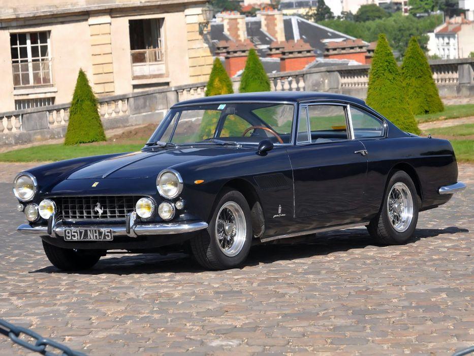 1963 Ferrari 250 GT-E 2+2 Series-III supercar classic   js wallpaper