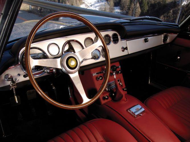 1963 Ferrari 250 GT-E 2+2 Series-III supercar classic interior g wallpaper