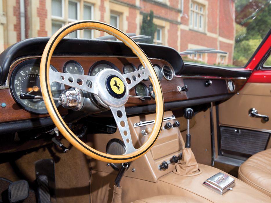 1963 Ferrari 250 GT-E 2+2 Series-III supercar classic interior   l wallpaper