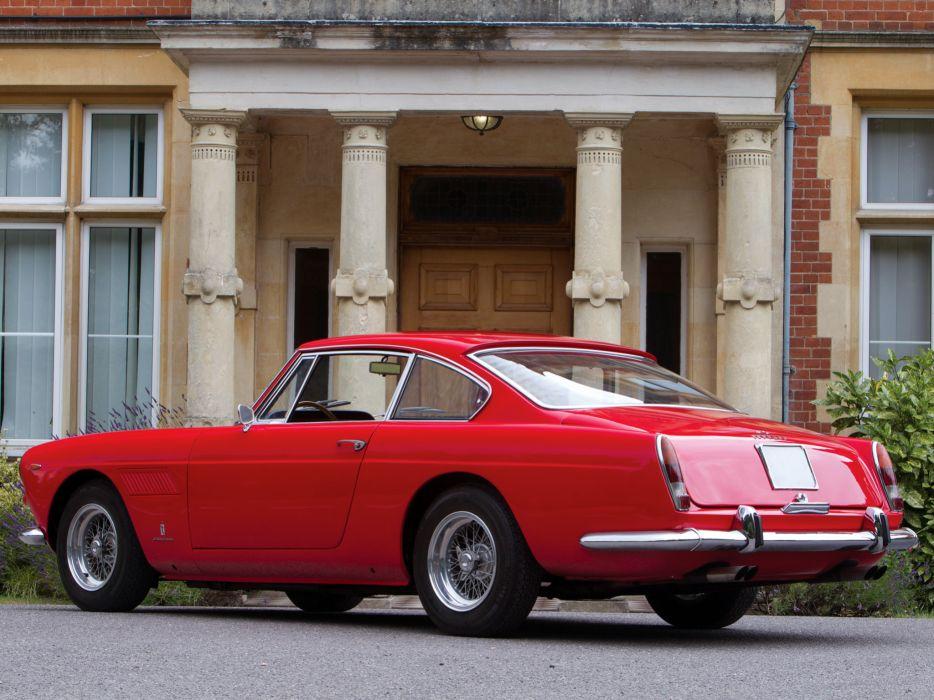 1963 Ferrari 250 GT-E 2+2 Series-III supercar classic  bl wallpaper