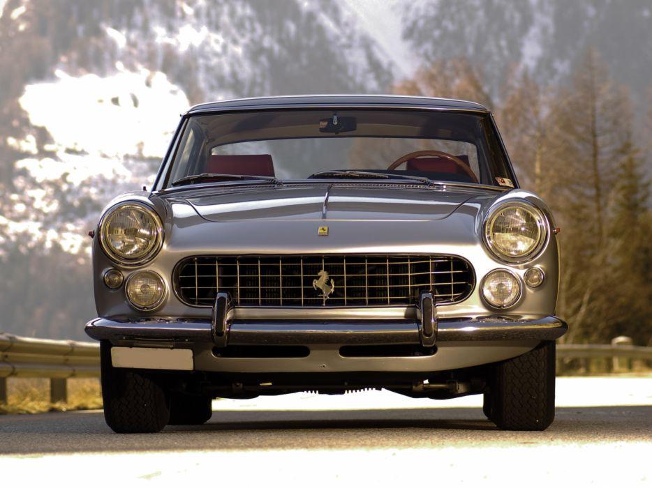 1963 Ferrari 250 GT-E 2+2 Series-III supercar classic wallpaper