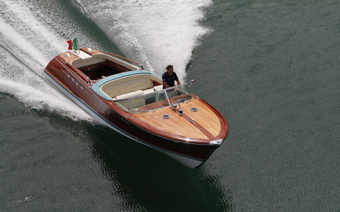 1968 Riva Aquarama Lamborghini superboat race racing boat  h wallpaper