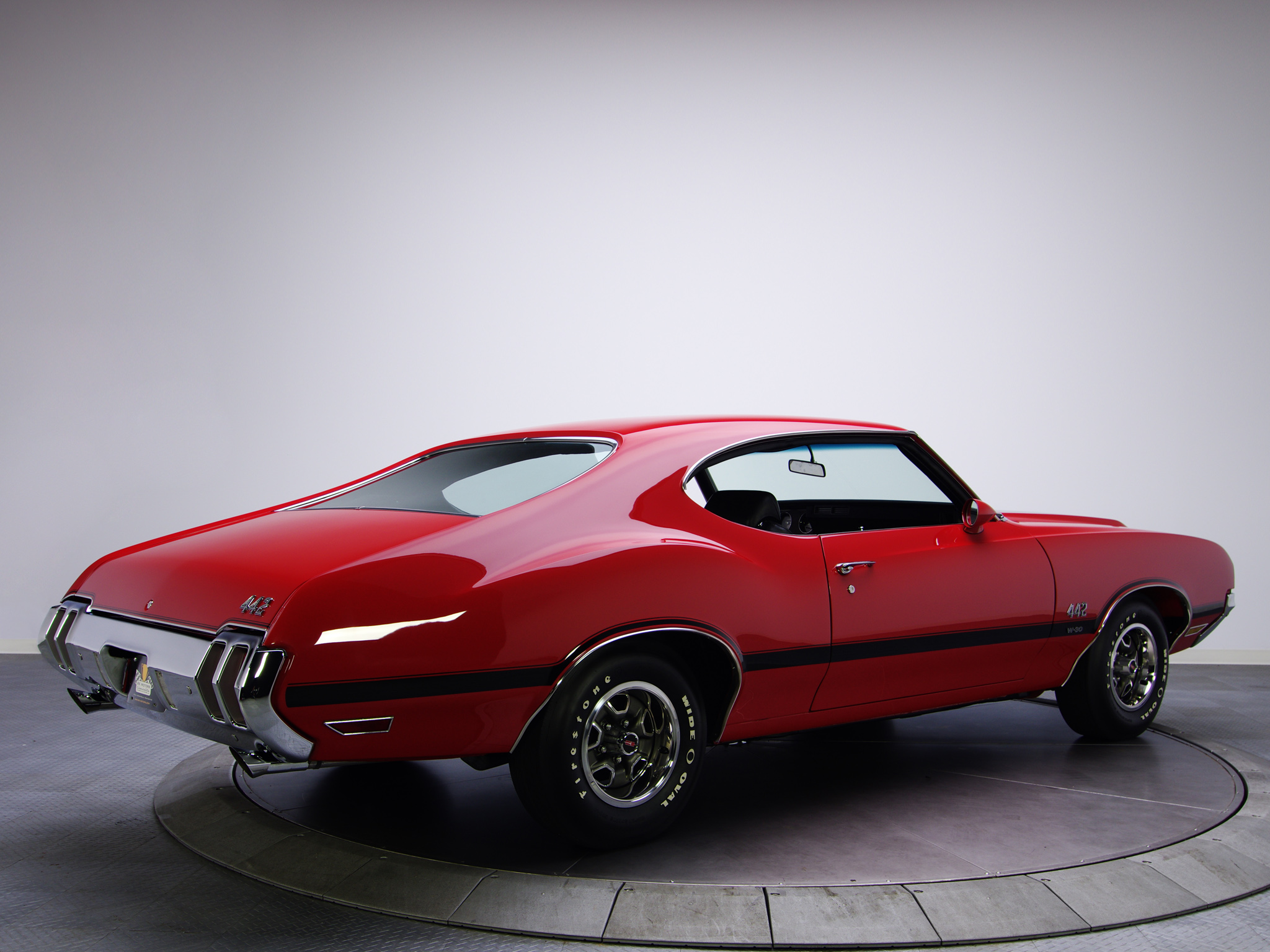 1970 Oldsmobile 442 W 30 Holiday Coupe 4487 Muscle