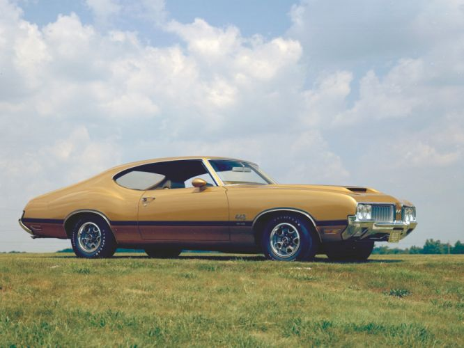 1970 Oldsmobile 442 W-30 Holiday Coupe (4487) muscle classic gs wallpaper