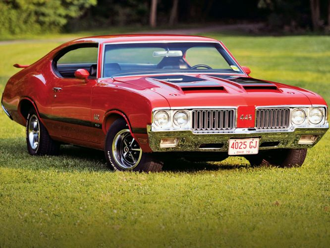 1970 Oldsmobile 442 W-30 Holiday Coupe (4487) muscle classic f wallpaper