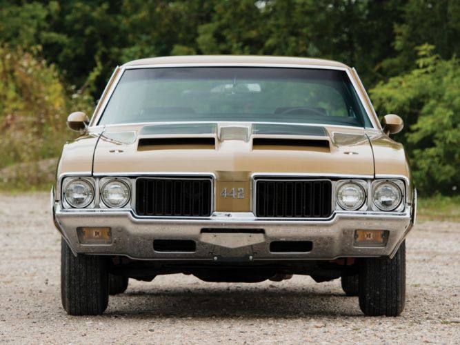 1970 Oldsmobile 442 W-30 Holiday Coupe (4487) muscle classic g wallpaper