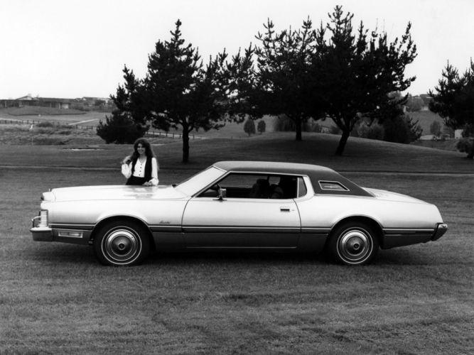 1973 Ford Thunderbird luxury classic wallpaper