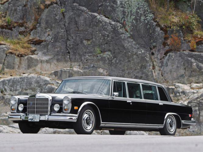 1974 Mercedes Benz 600 4-door Pullman Limousine (W100) luxury claasic f wallpaper