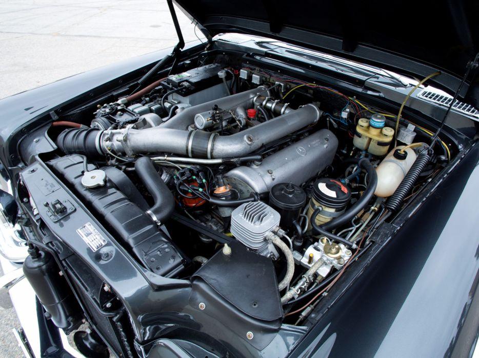 1974 Mercedes Benz 600 4-door Pullman Limousine (W100) luxury claasic engine     f wallpaper