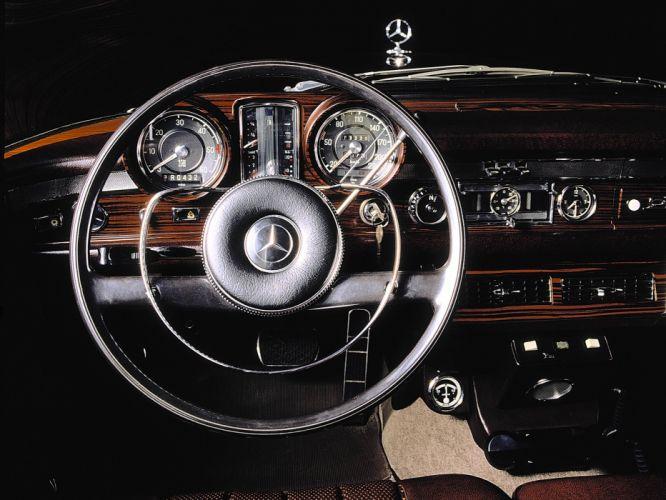 1974 Mercedes Benz 600 4-door Pullman Limousine (W100) luxury claasic interior g wallpaper