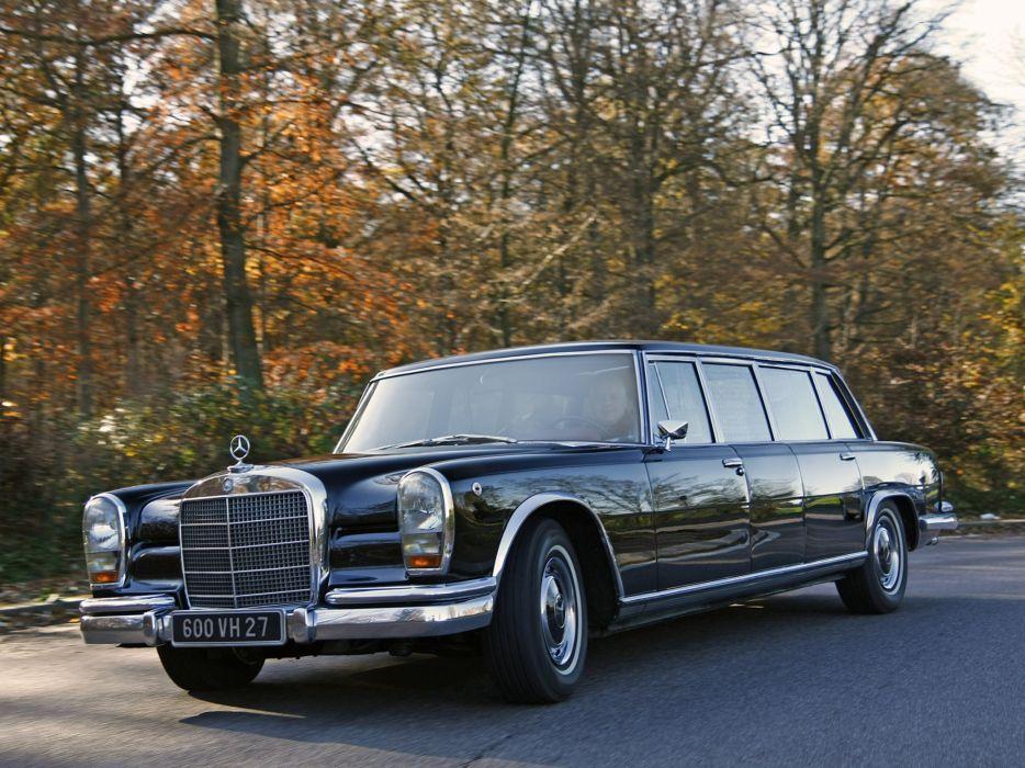 1974 Mercedes Benz 600 4-door Pullman Limousine (W100) luxury claasic   fa wallpaper