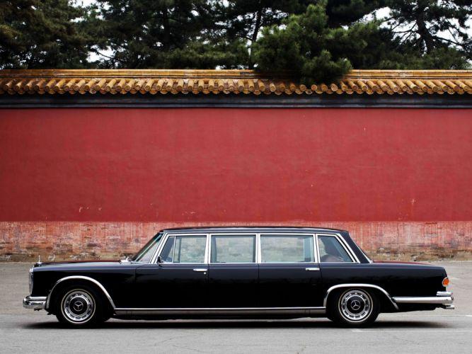1974 Mercedes Benz 600 4-door Pullman Limousine (W100) luxury claasic fw wallpaper