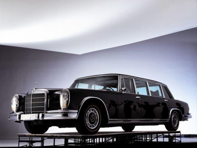 1974 Mercedes Benz 600 4-door Pullman Limousine (W100) luxury claasic g wallpaper