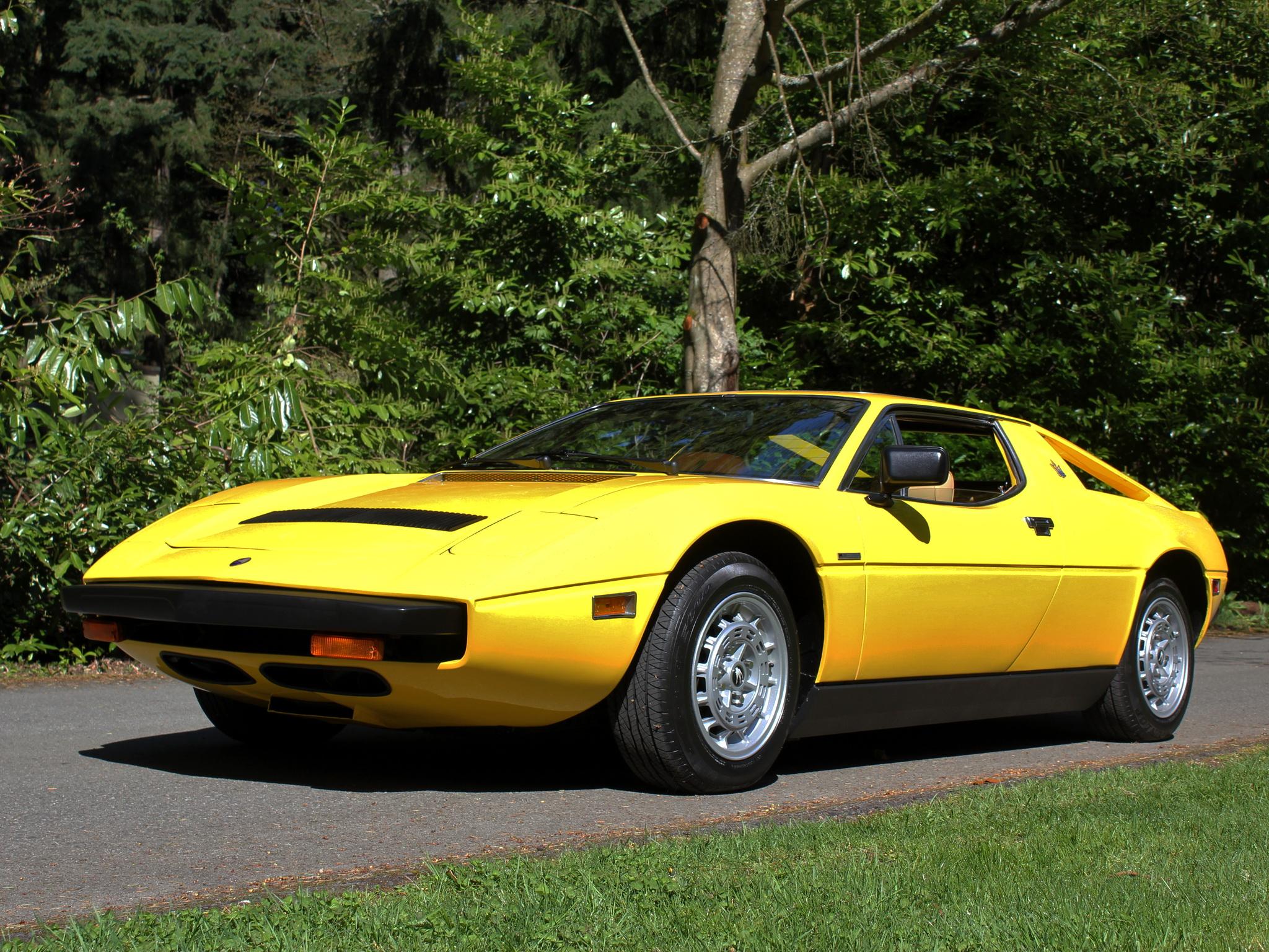 1976 Maserati Merak SS US-spec supercar s-s fh wallpaper ...