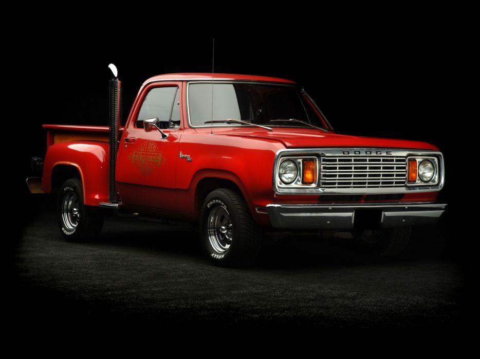 1978 Dodge Adventurer Li'l Red Express Truck pickup hot rod rods classic    f wallpaper