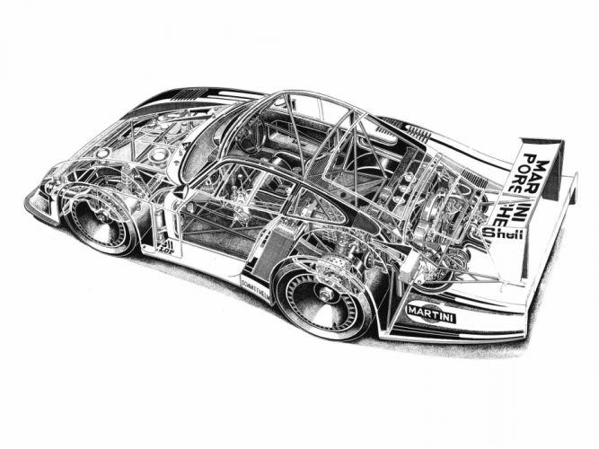 1978 Porsche 935-78 Moby Dick race racing 935 interior engine f wallpaper