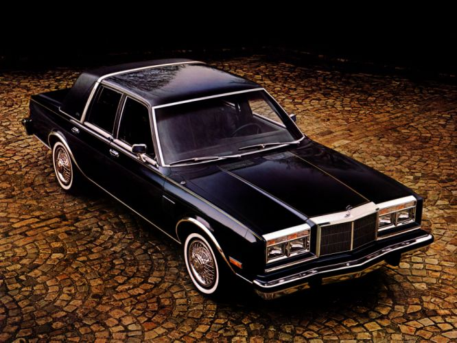 1982 Chrysler New Yorker Fifth Avenue luxury g wallpaper