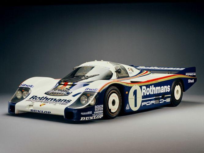1982 Porsche 956 C Coupe race racing f wallpaper