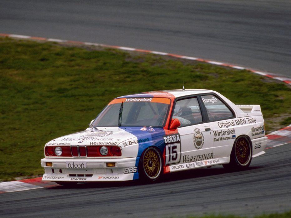 1987 BMW M3 Group-A DTM (E30) race racing m-3    fk wallpaper