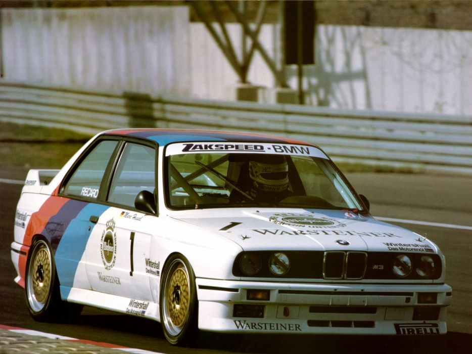 1987 BMW M3 Group-A DTM (E30) race racing m-3   g wallpaper