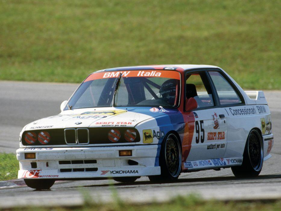1987 BMW M3 Group-A DTM (E30) race racing m-3  f wallpaper