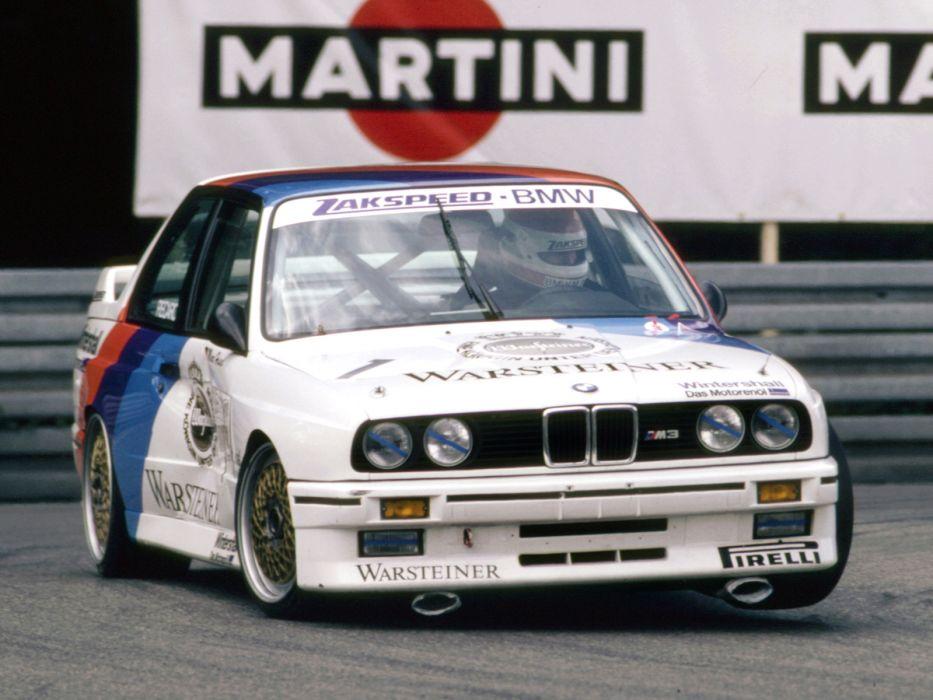 1987 BMW M3 Group-A DTM (E30) race racing m-3   fn wallpaper