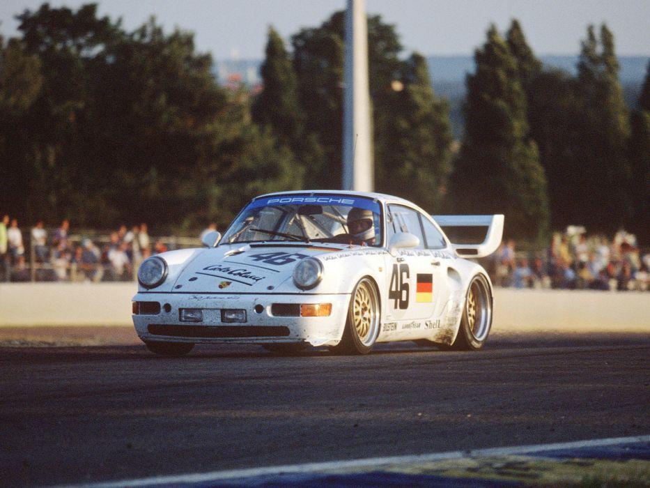 1993 Porsche 911 Turbo S Le-Mans GT (964) race racing g-t wallpaper