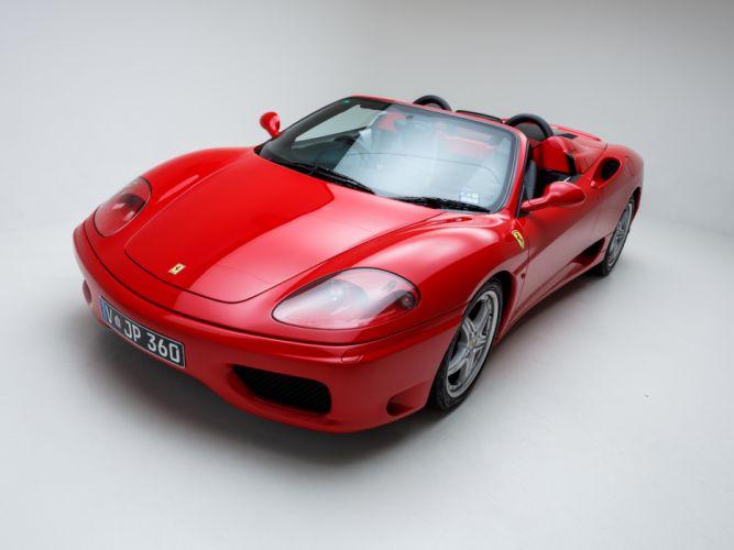 2002 Ferrari 360 Spider AU-spec supercar h wallpaper