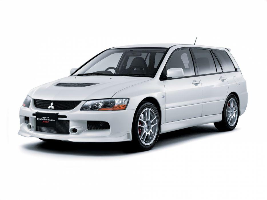 2006 Mitsubishi Lancer Evolution IX Wagon MR stationwagon wallpaper