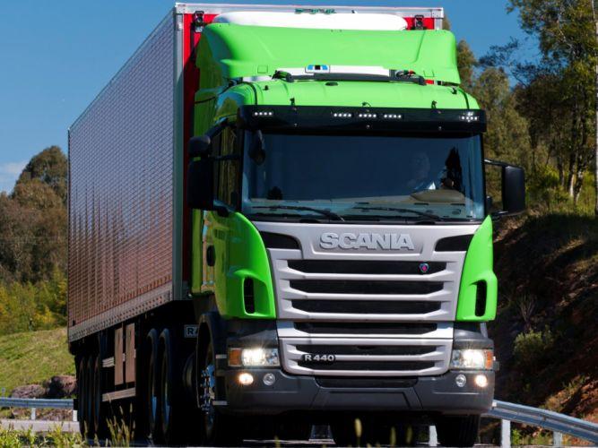 2009 Scania R440 6x2 semi tractor f wallpaper