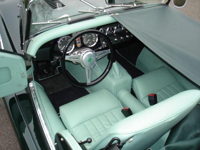 2010 Morgan Plus-4 roadster interior f wallpaper