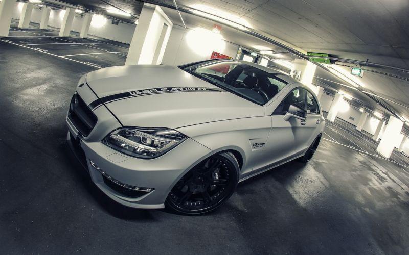 2012 Wheelsandmore Mercedes Benz CLS63 AMG Seven-11 tuning g wallpaper