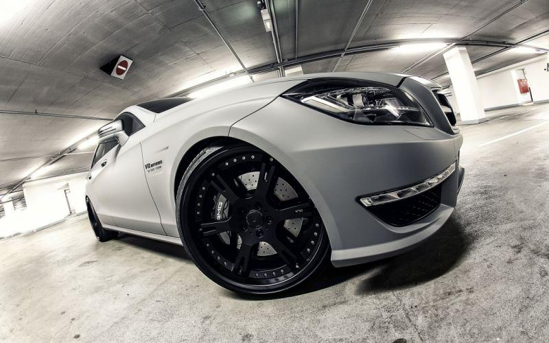 2012 Wheelsandmore Mercedes Benz CLS63 AMG Seven-11 tuning wheel f wallpaper