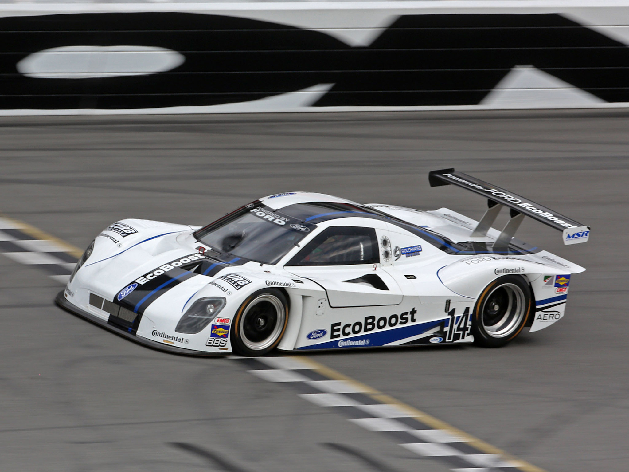 Ford Ecoboost Lmp Race Car Le Mans Racing G Wallpaper