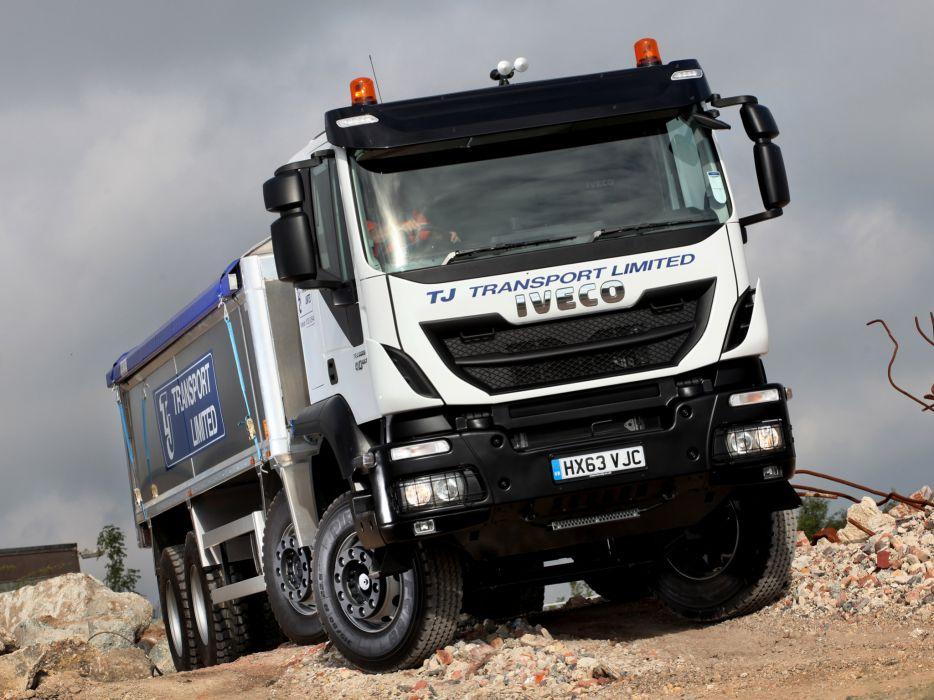 2013 Iveco Trakker Hi-Land 410 8x4 UK-spec semi tractor wallpaper