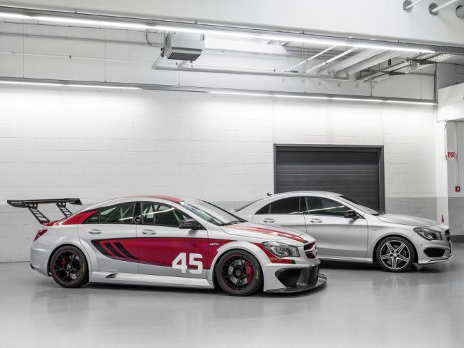 2013 Mercedes Benz CLA 45 AMG Racing Series race wallpaper