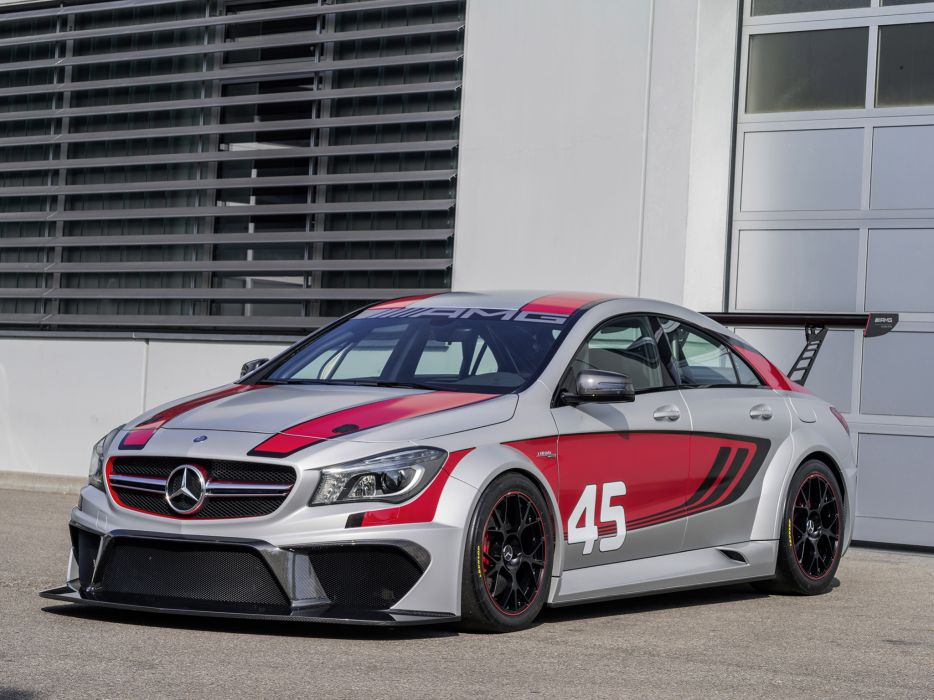 2013 Mercedes Benz CLA-45 AMG C117 concept race racing cla    g wallpaper