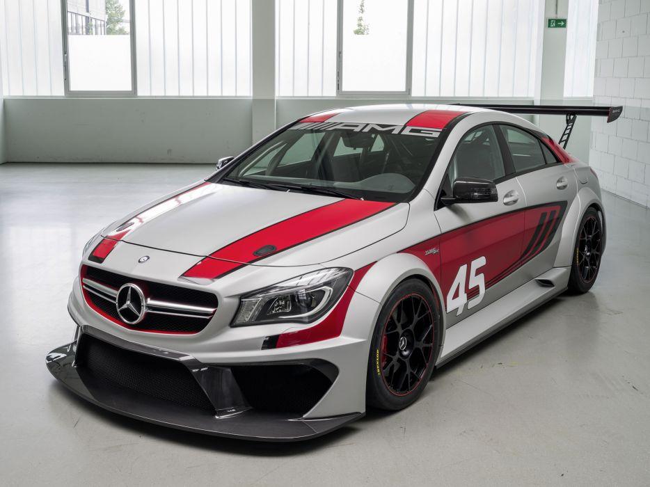 2013 Mercedes Benz CLA-45 AMG C117 concept race racing wallpaper