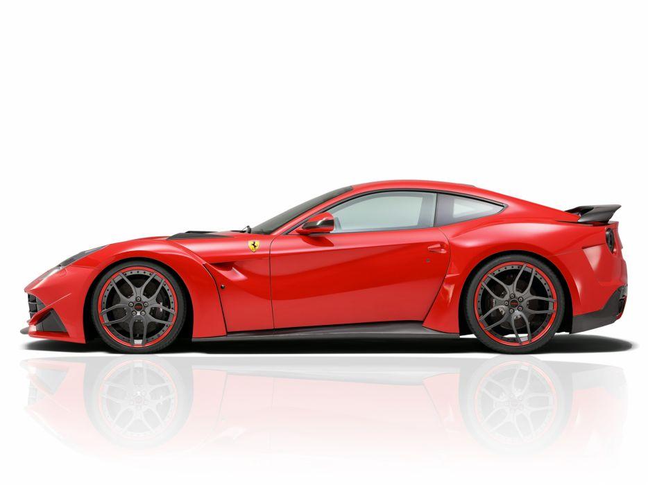 2013 Novitec Rosso Ferrari F12 Berlinetta N-Largo tuning supercar  f wallpaper