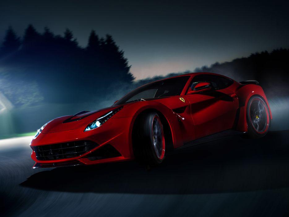 2013 Novitec Rosso Ferrari F12 Berlinetta N-Largo tuning supercar  v wallpaper